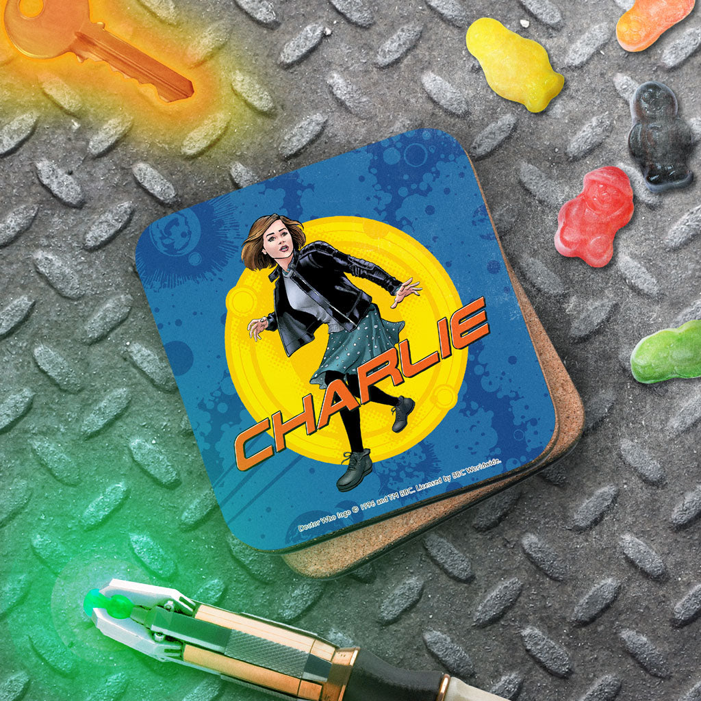 Clara Oswald Personalised Coaster (Lifestyle)