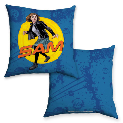 Clara Oswald Personalised Cushion