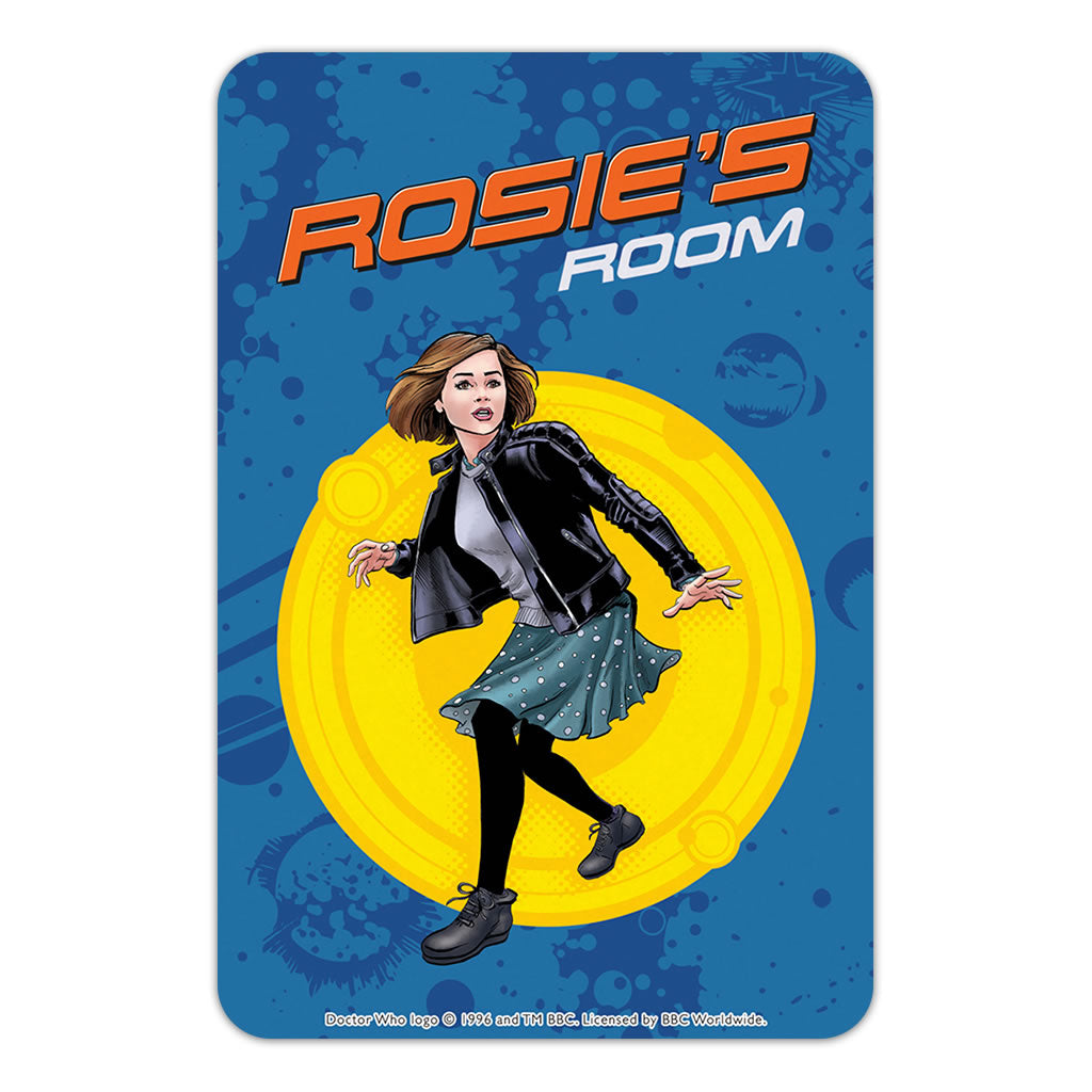 Clara Oswald Personalised Door Plaque