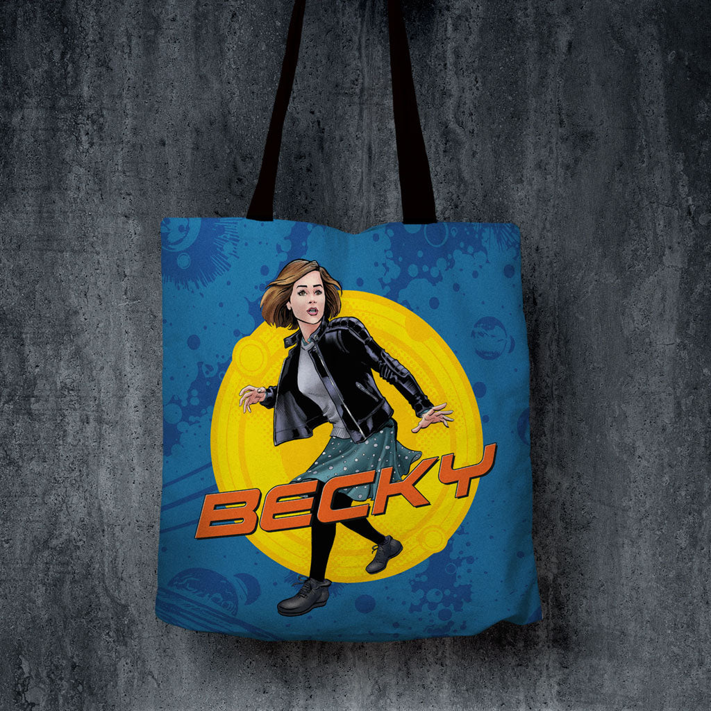 Clara Oswald Personalised Edge to Edge Tote (Lifestyle)