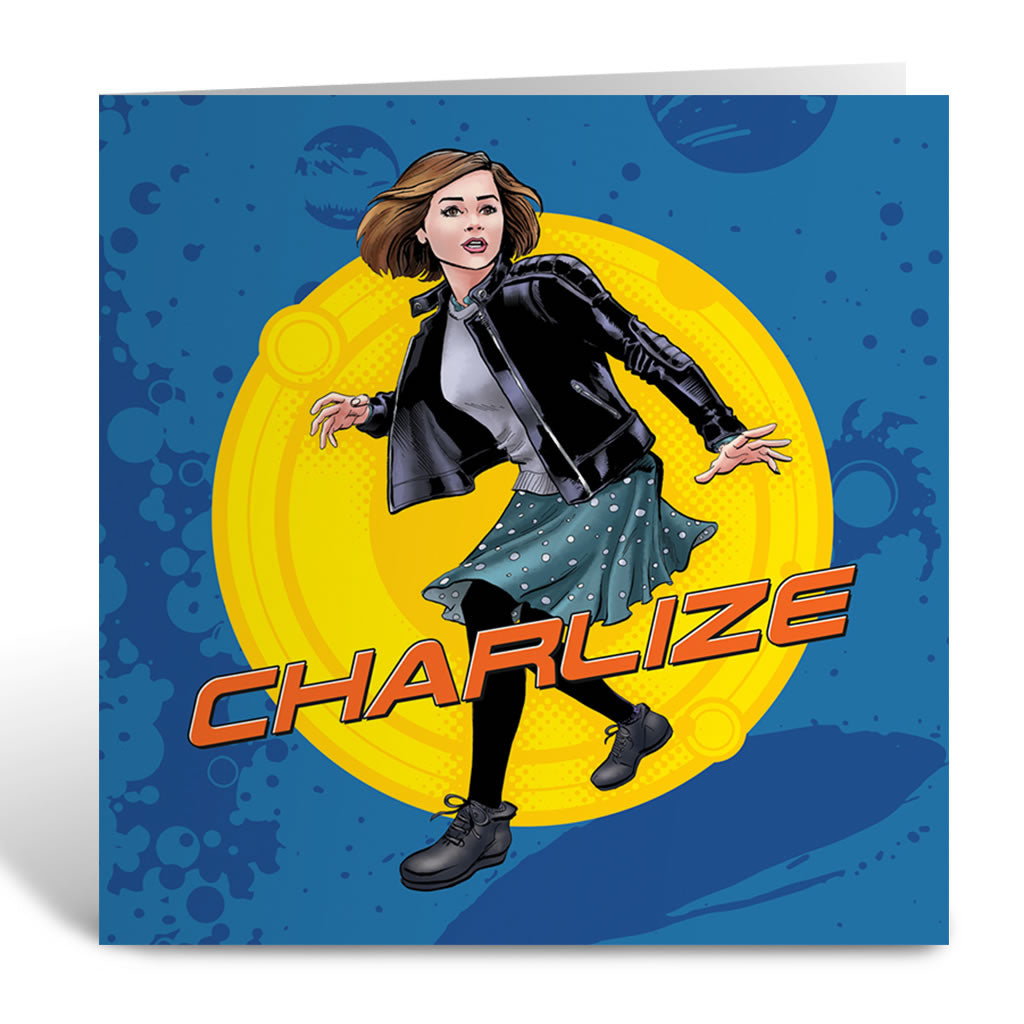 Clara Oswald Personalised Greeting Card