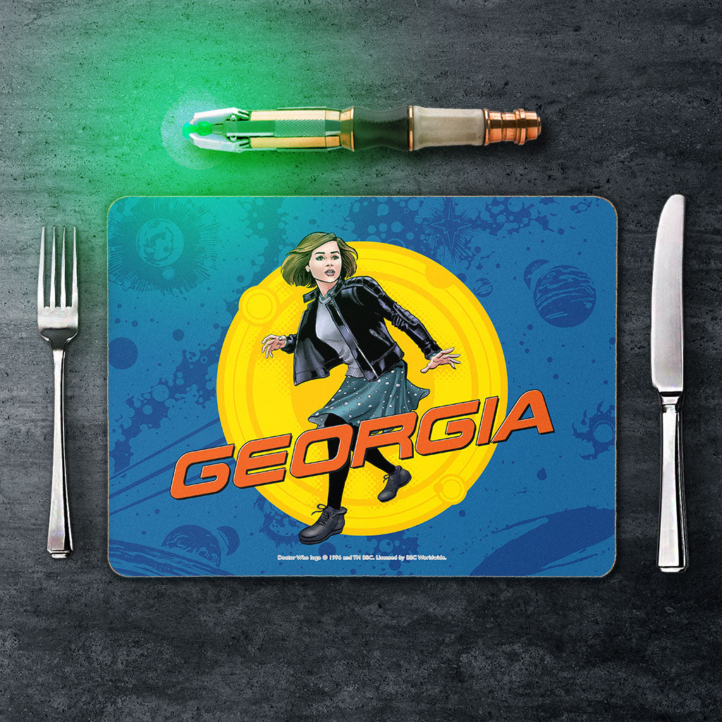 Clara Oswald Personalised Placemat (Lifestyle)