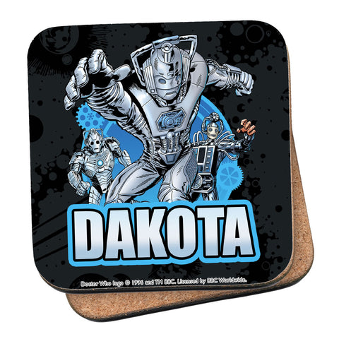 Cybermen Personalised Coaster