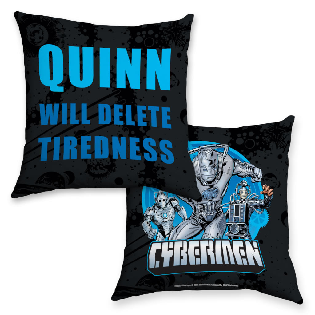 Cybermen Personalised Cushion
