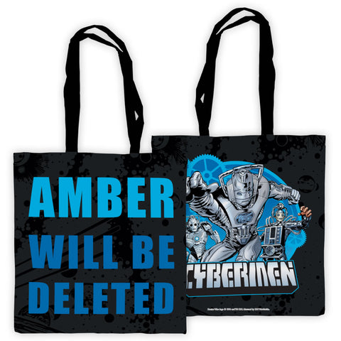 Cybermen Personalised Edge to Edge Tote