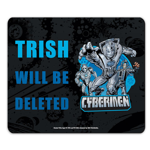 Cybermen Personalised Mousemat