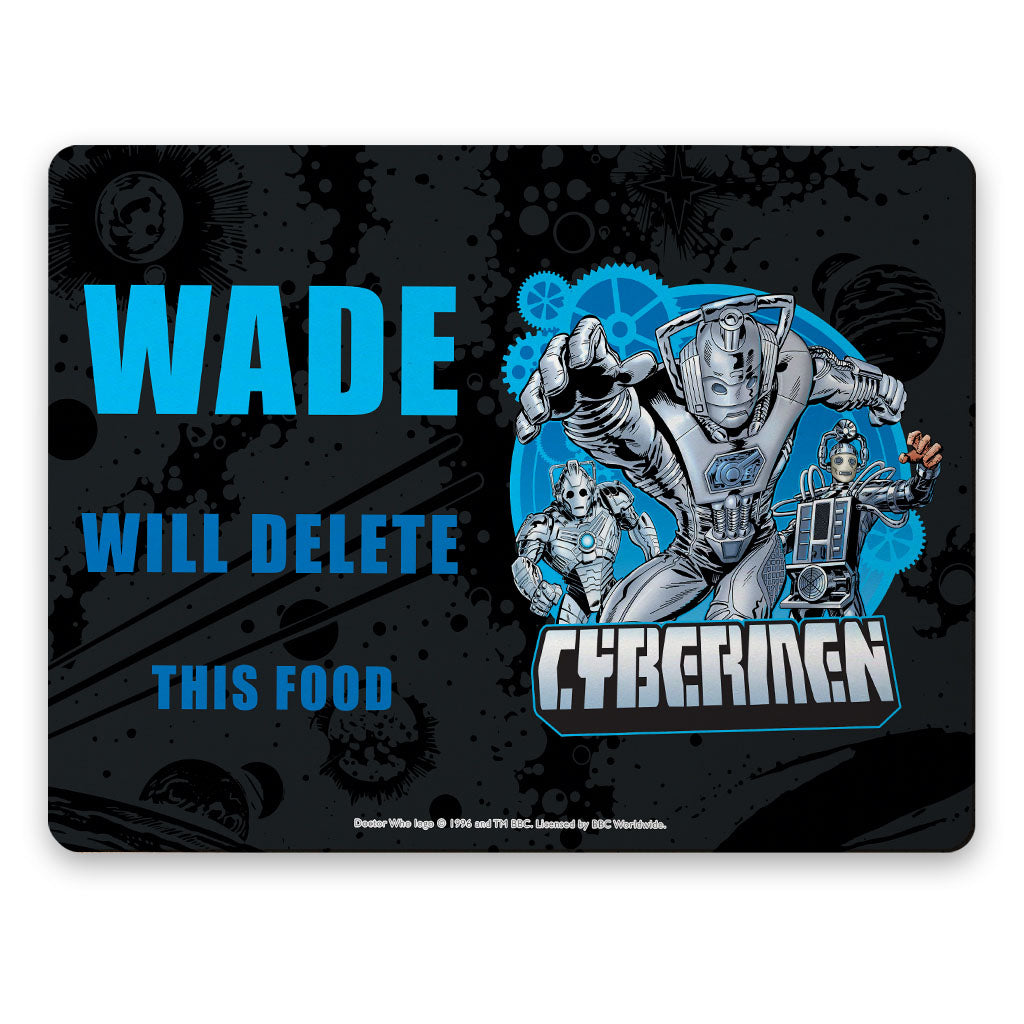 Cybermen Personalised Placemat