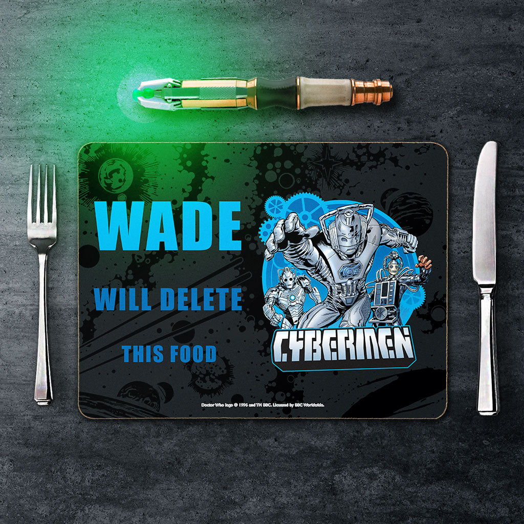 Cybermen Personalised Placemat (Lifestyle)