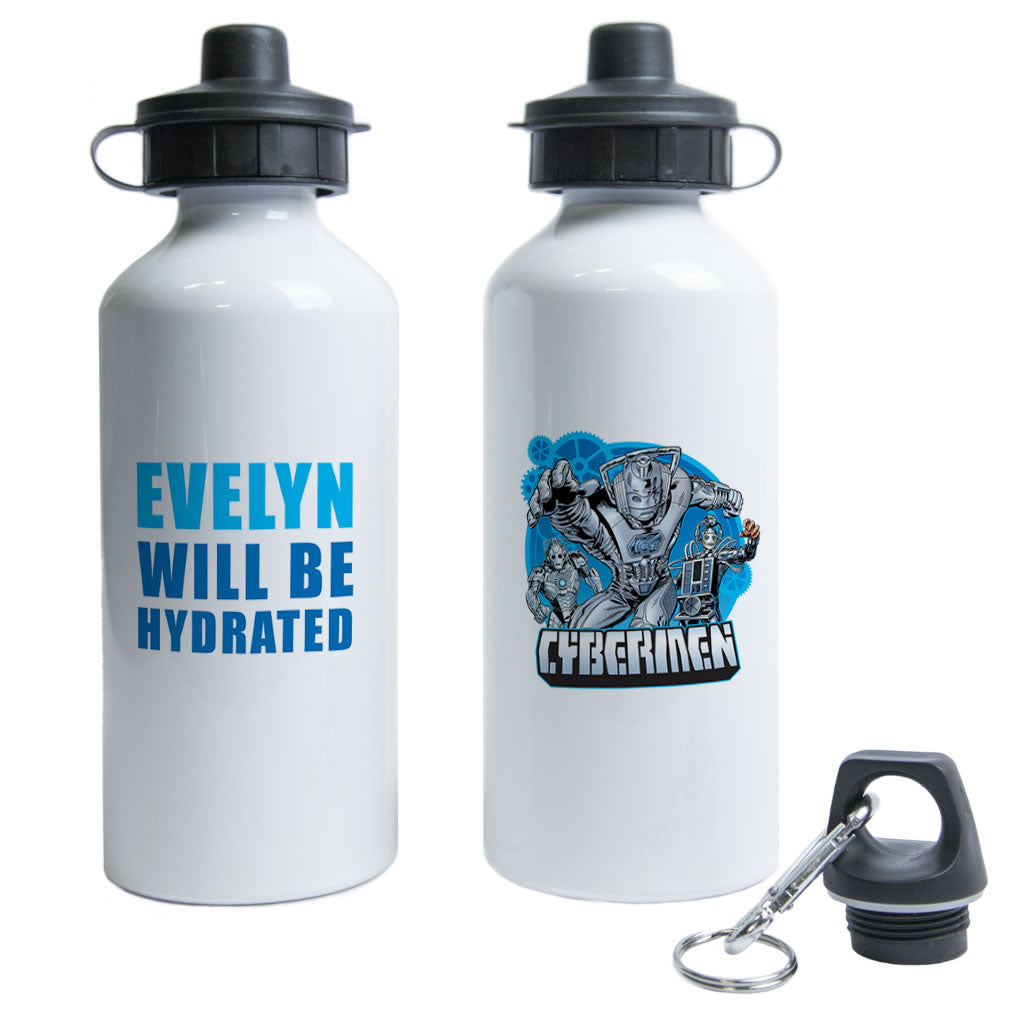 Cybermen Personalised Water Bottle