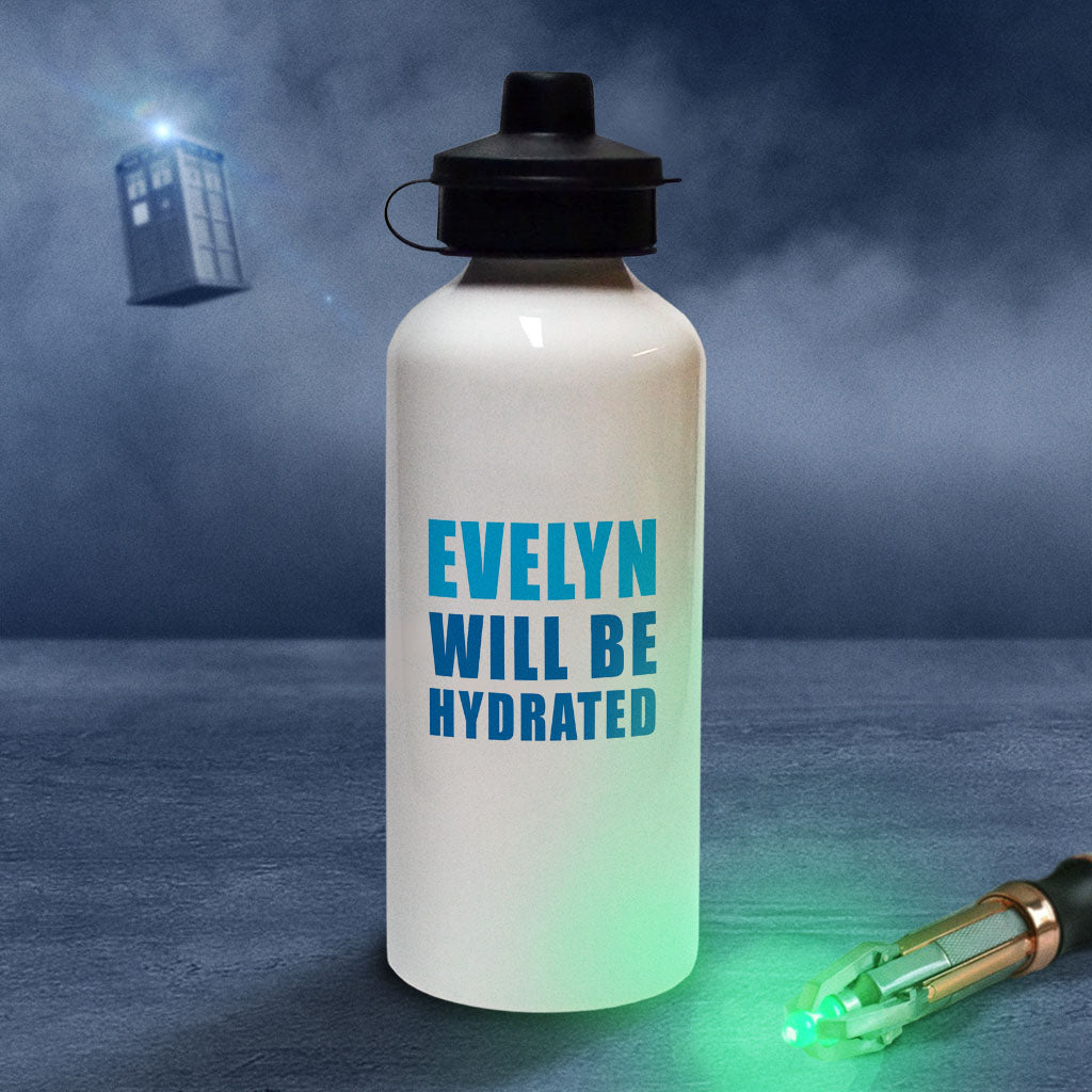 Cybermen Personalised Water Bottle (Lifestyle)