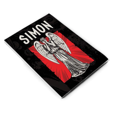 Weeping Angel Personalised A5 Notepad