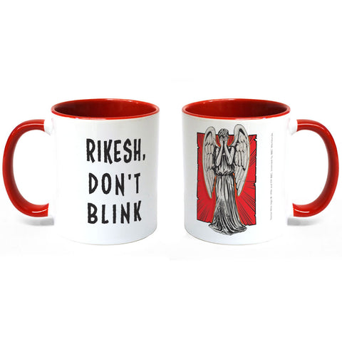 Weeping Angel Personalised Colour Insert Mug