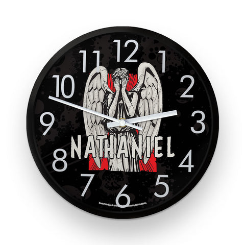 Weeping Angel Personalised Clock