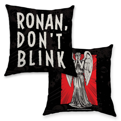 Weeping Angel Personalised Cushion