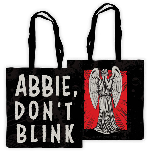 Weeping Angel Personalised Edge to Edge Tote