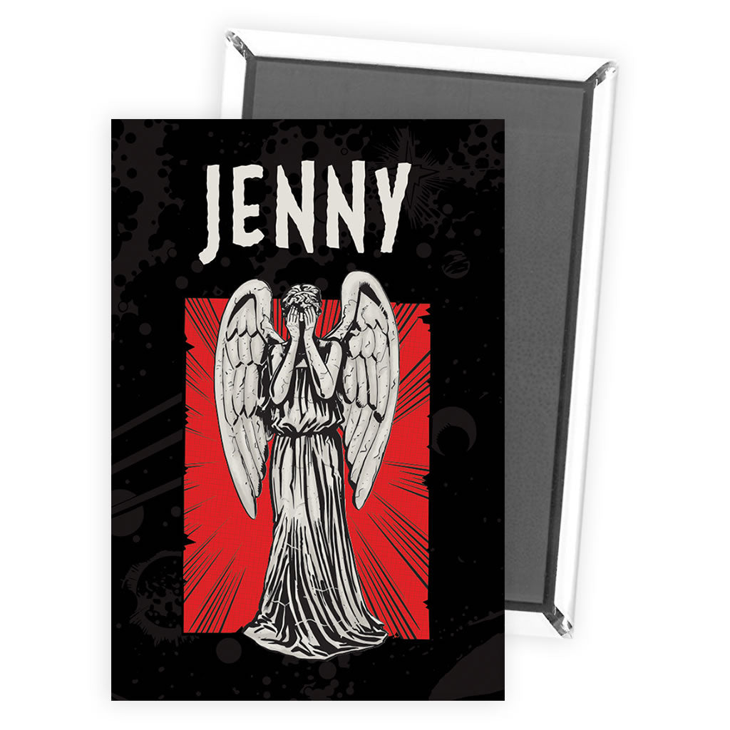 Weeping Angel Personalised Magnet