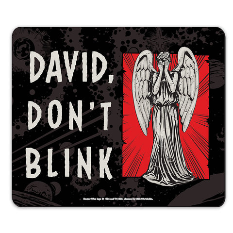 Weeping Angel Personalised Mousemat
