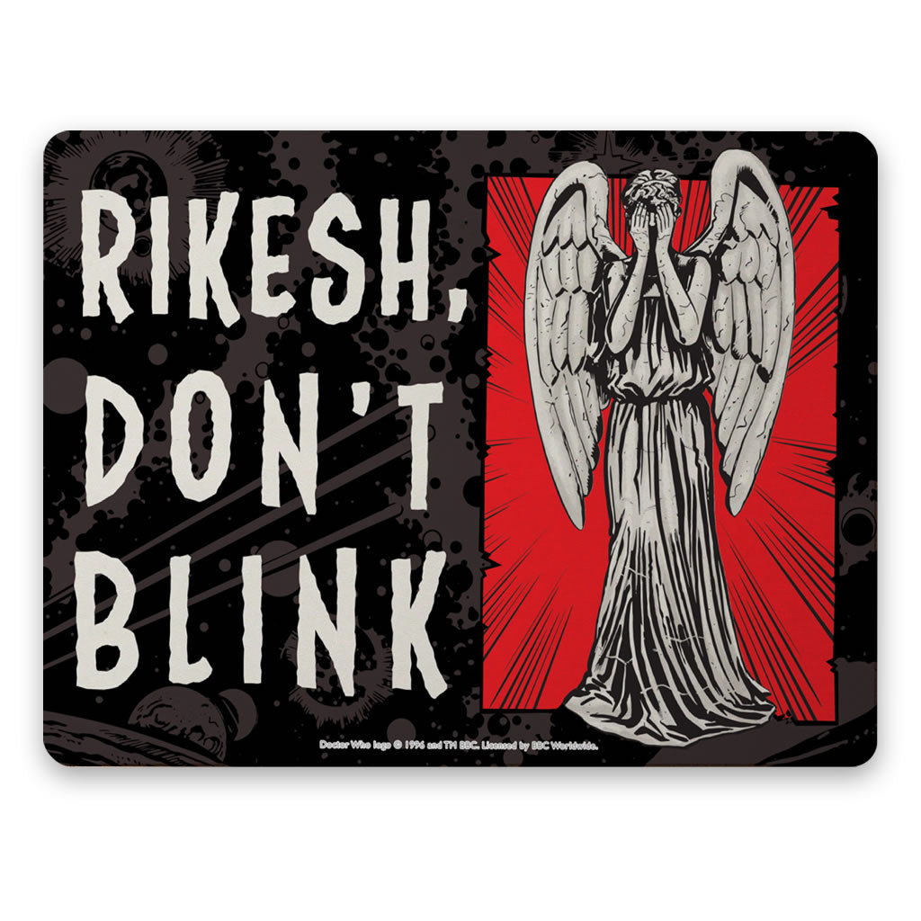 Weeping Angel Personalised Placemat
