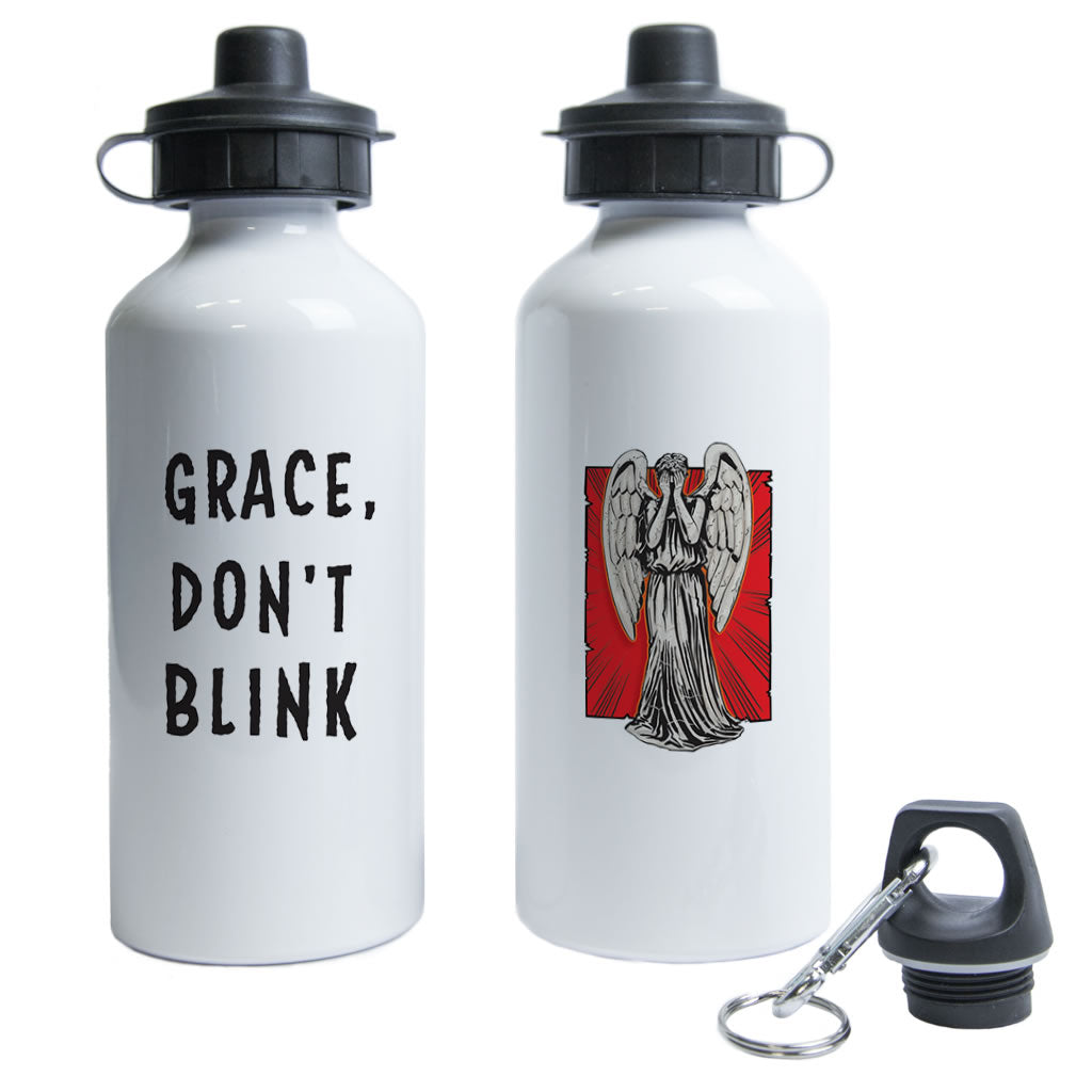 Weeping Angel Personalised Water Bottle