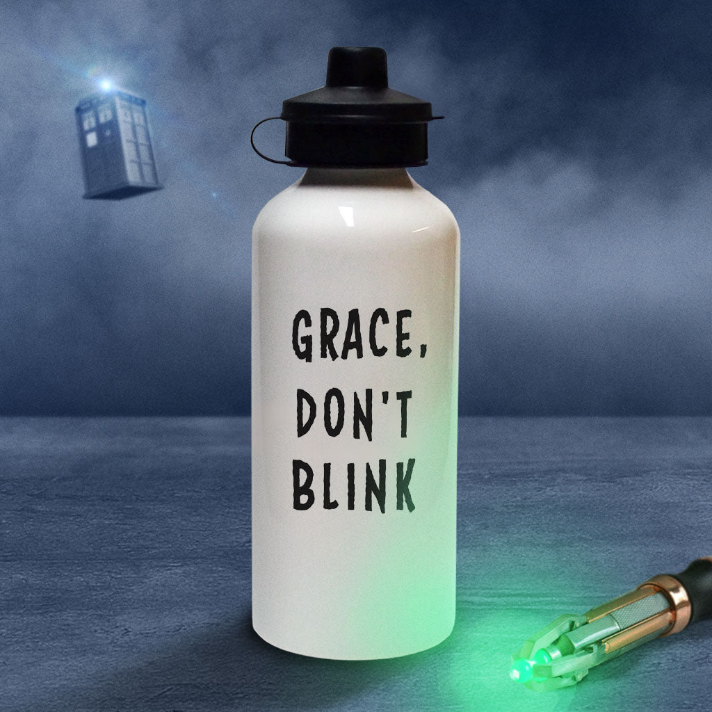 Weeping Angel Personalised Water Bottle (Lifestyle)