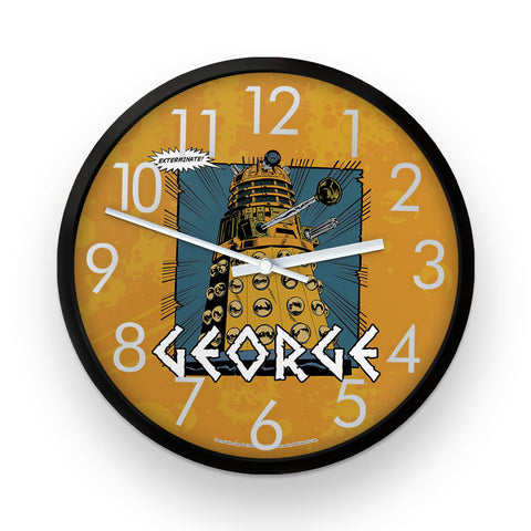 Dalek Personalised Clock