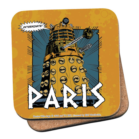 Dalek Personalised Coaster