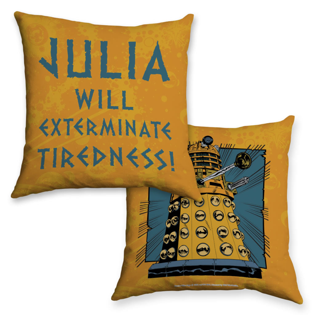 Dalek Personalised Cushion