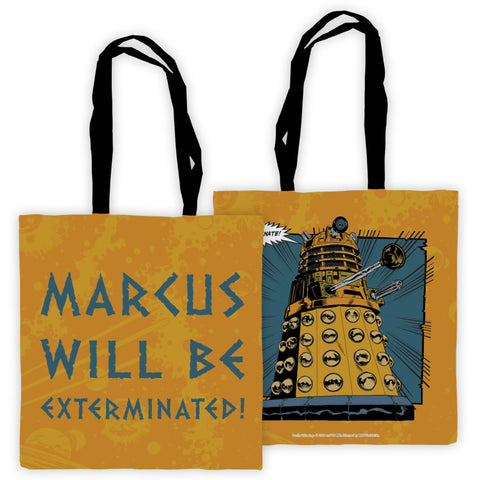 Dalek Personalised Edge to Edge Tote