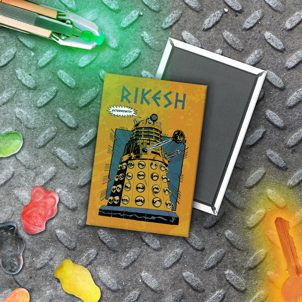 Dalek Personalised Magnet (Lifestyle)