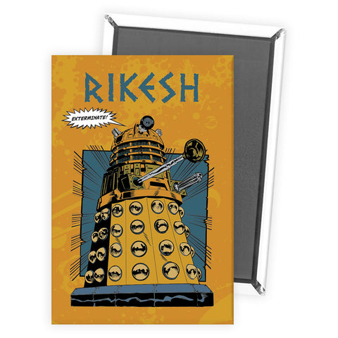 Dalek Personalised Magnet