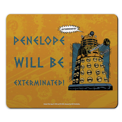 Dalek Personalised Mousemat