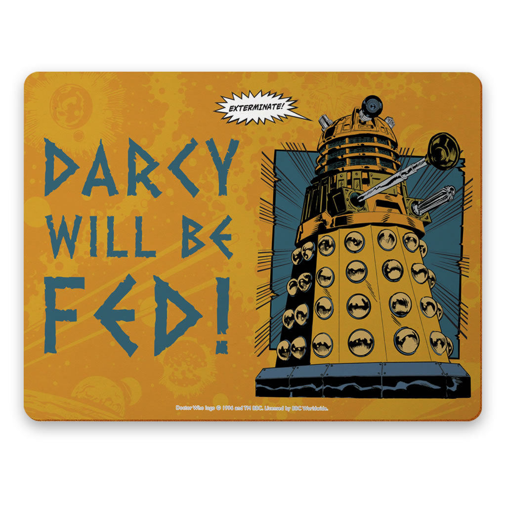 Dalek Personalised Placemat