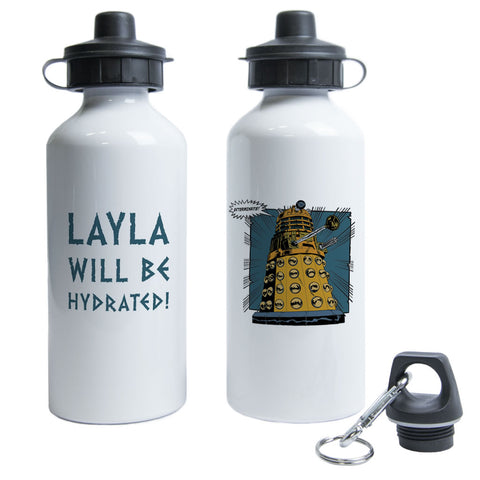 Dalek Personalised Water Bottle