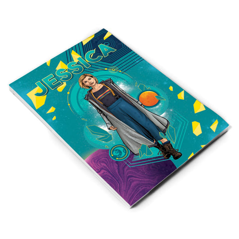 Thirteenth Doctor Personalised A5 Notepad