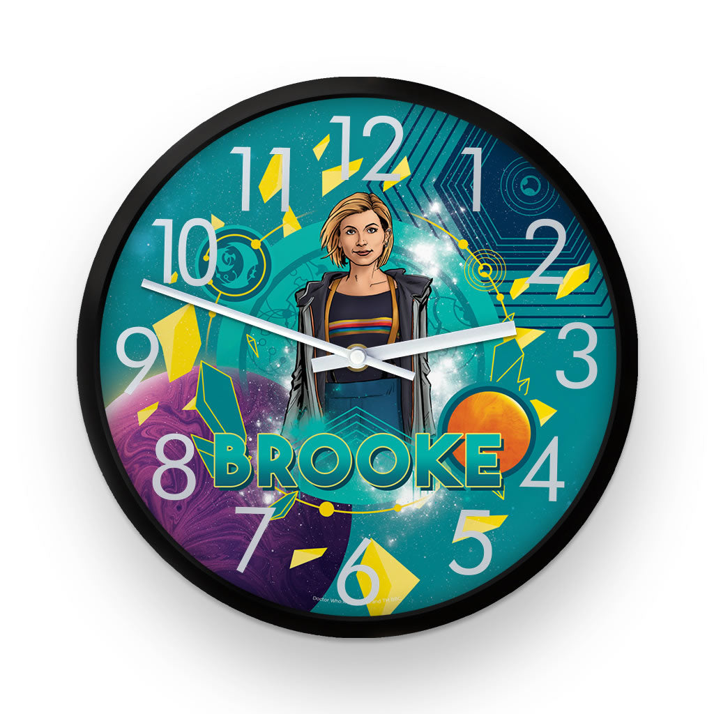 Thirteenth Doctor Personalised Clock