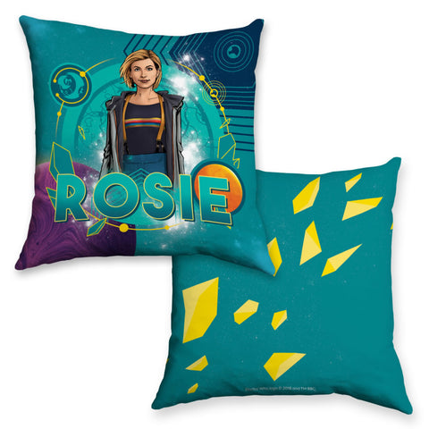 Thirteenth Doctor Personalised Cushion