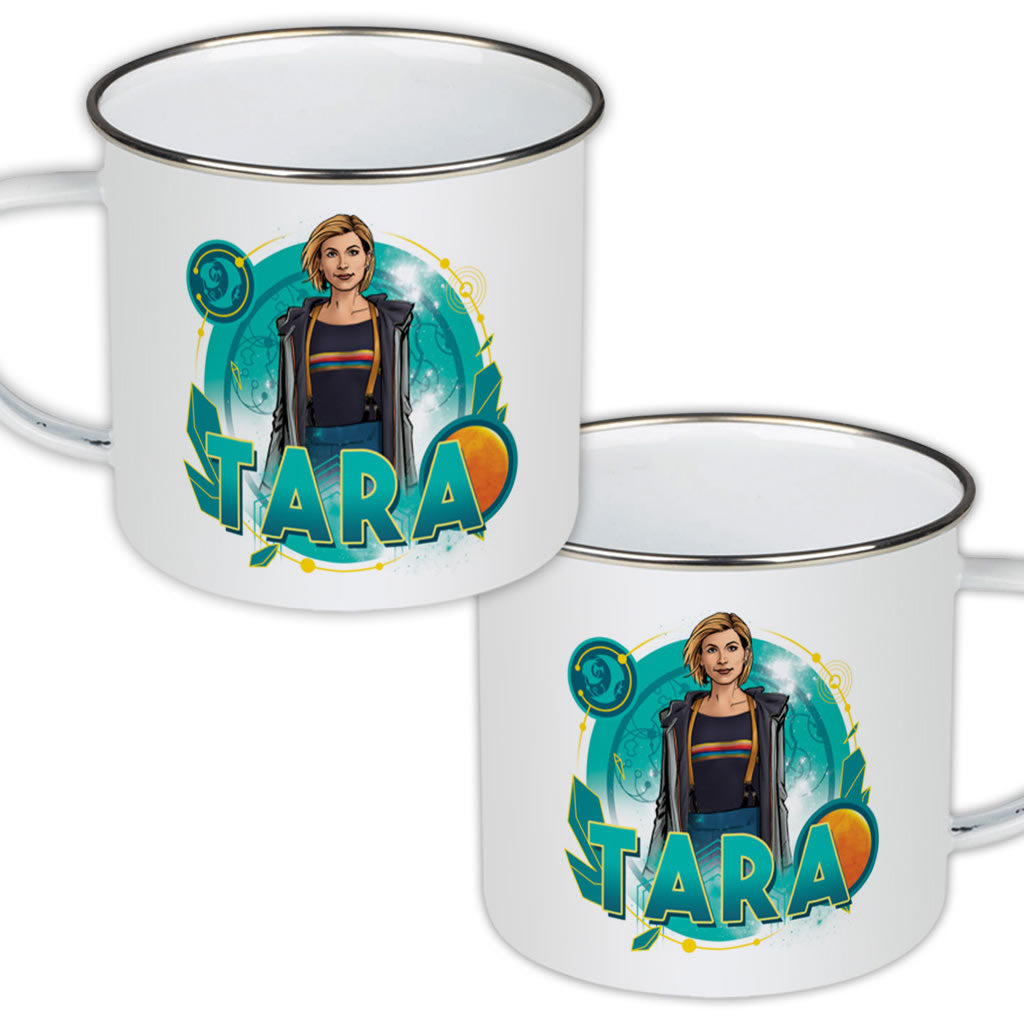 Thirteenth Doctor Personalised Enamel Mug