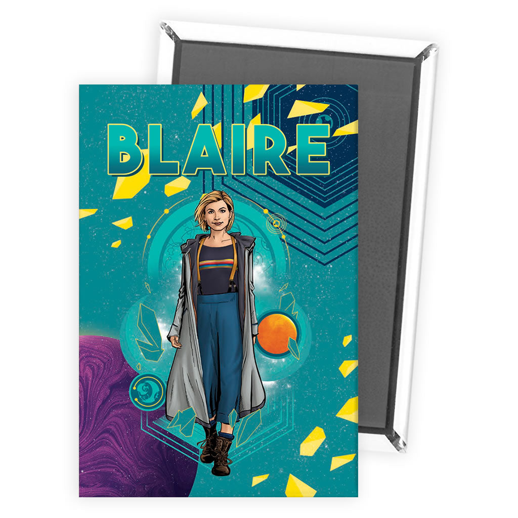 Thirteenth Doctor Personalised Magnet