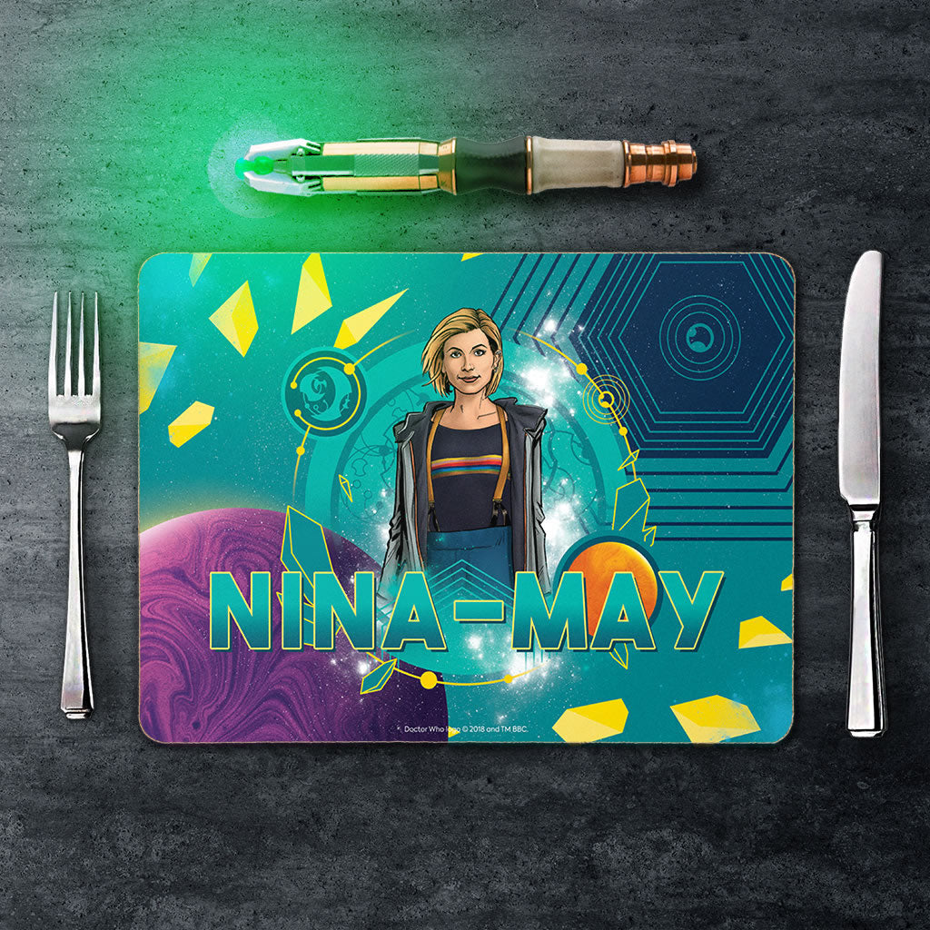 Thirteenth Doctor Personalised Placemat (Lifestyle)