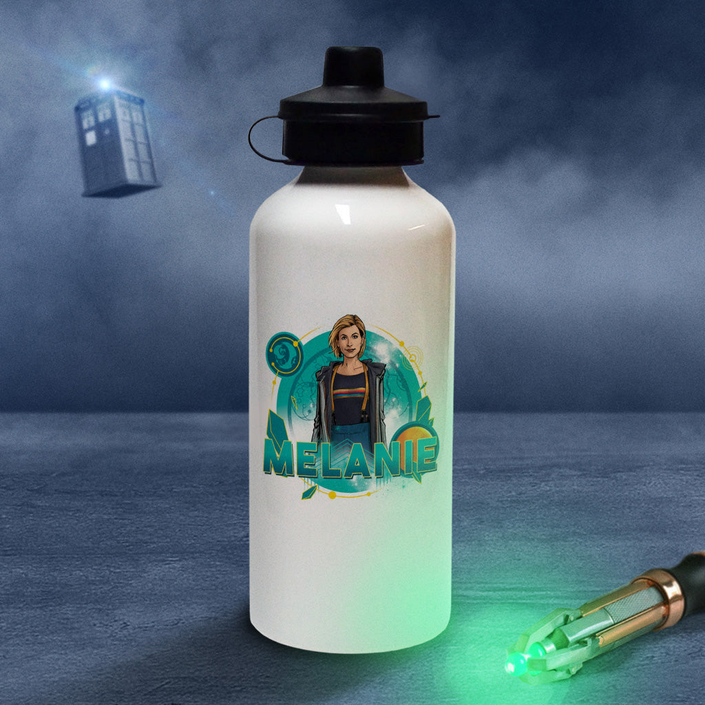 Thirteenth Doctor Personalised Water Bottle (Lifestyle)