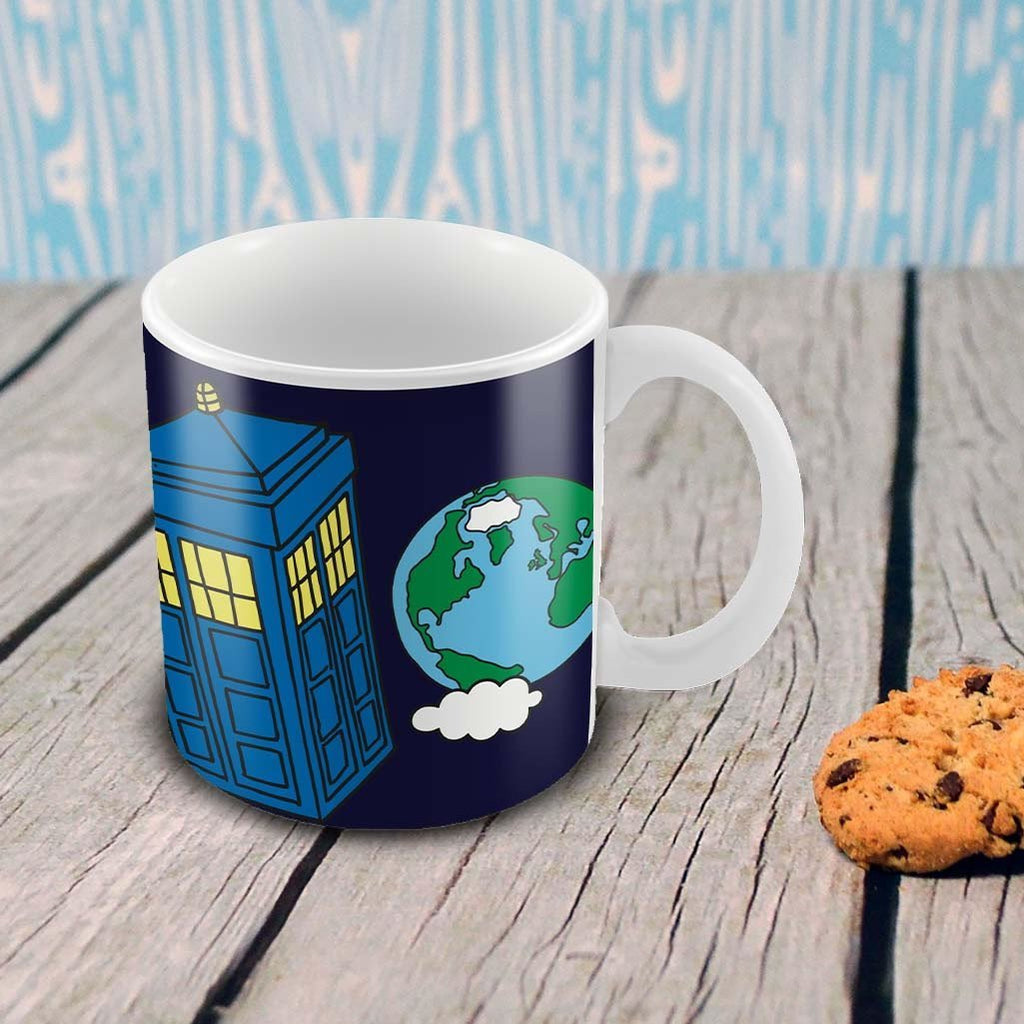 Mr.Men - Tardis Mug