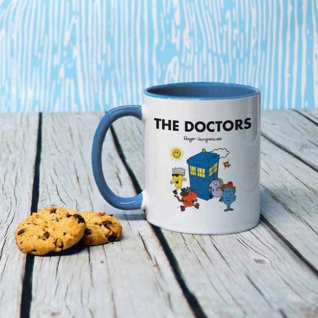 Mr.Men - Doctors Tardis Coloured Insert Mug