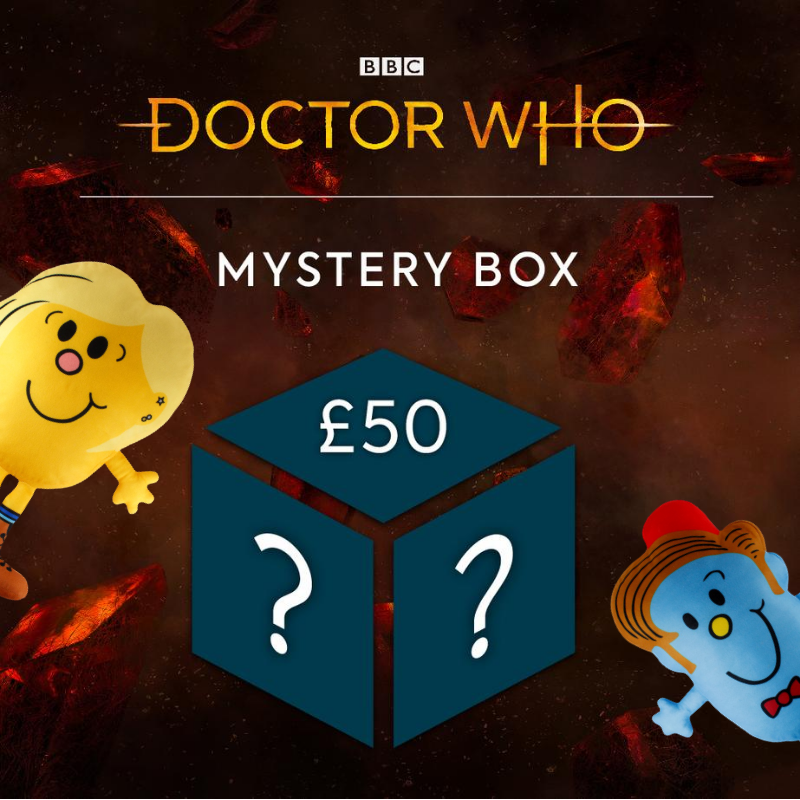 Doctor Who x Mr.Men Mystery Gift Box - £50