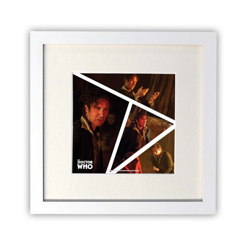 Eighth Doctor Photographic Square Art Print