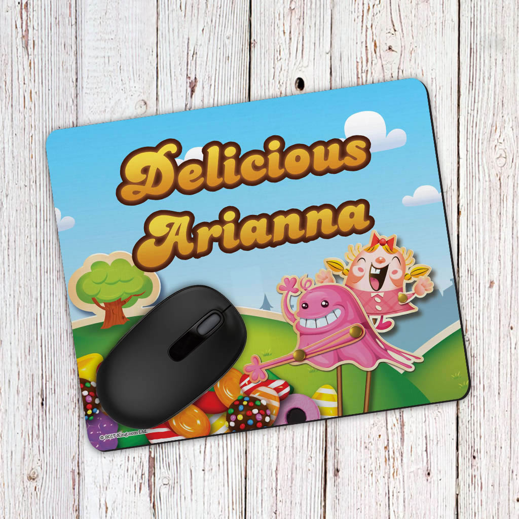 Bubblegum Troll Grab Mouse Mat (Lifestyle)