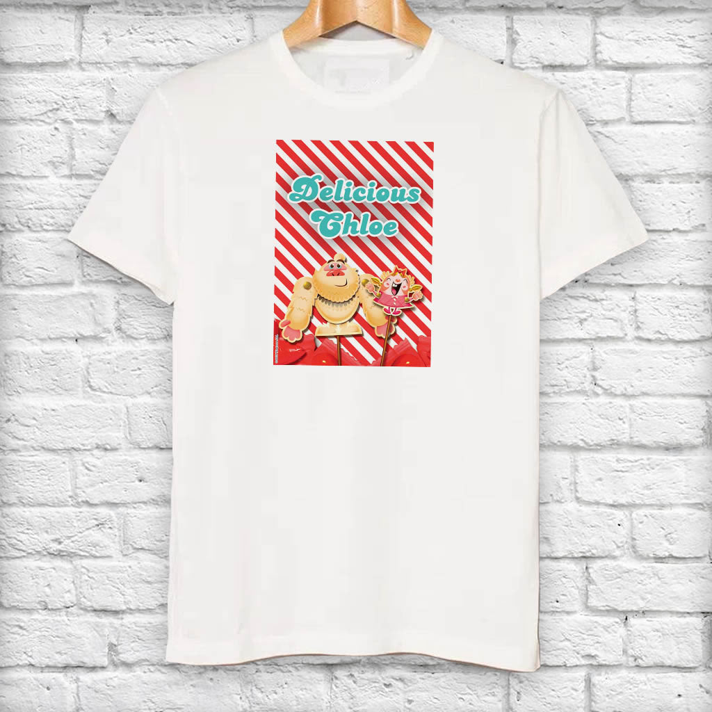 Mr Yetti & Tiffi Red Stripy T-Shirt (Lifestyle)