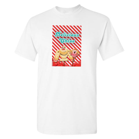 Mr Yetti & Tiffi Red Stripy T-Shirt