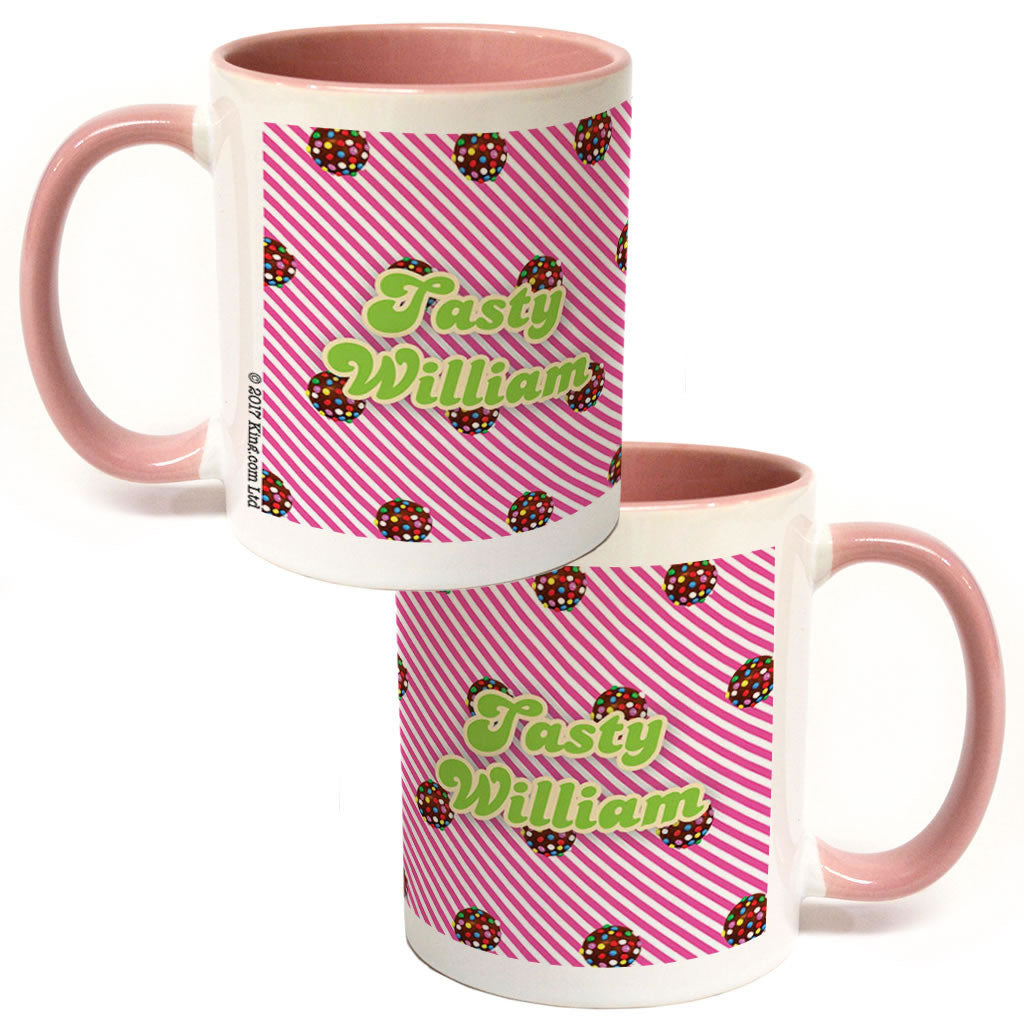 Colour Bomb Pink Stripy Coloured Insert Mug
