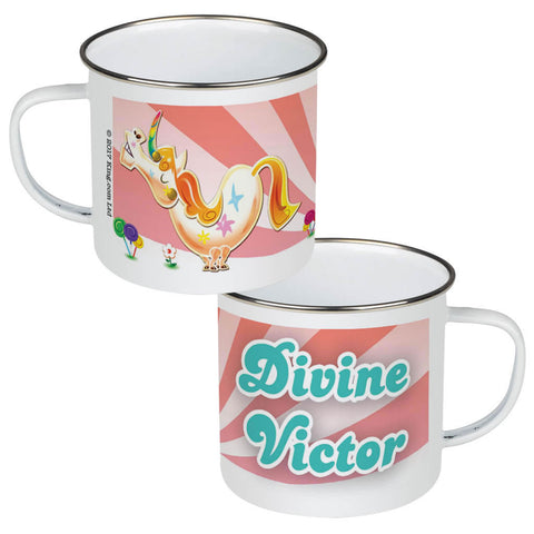 Misty The Unicorn Enamel Mug