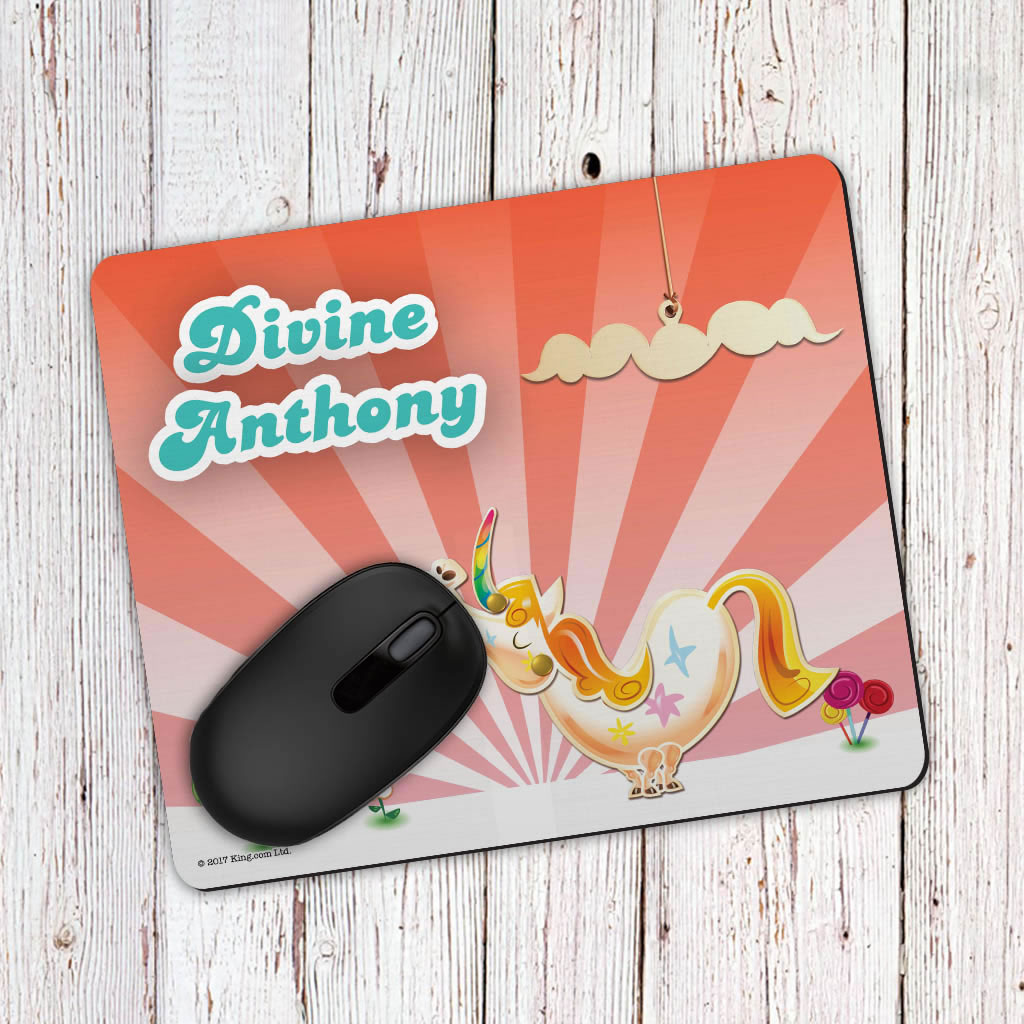 Misty The Unicorn Mouse Mat (Lifestyle)